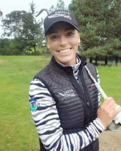 Laura Murray - Professional Golfer - Sponsored by Saltire Energy